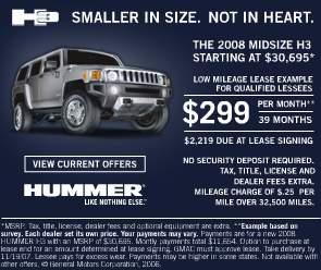 Hummer H3 - oferta